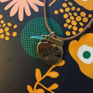 Jewelry - 4/$15 Blessed Life Necklace